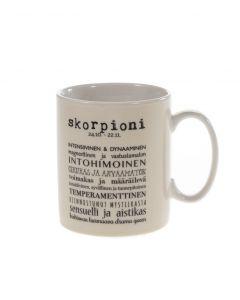 Horoskooppimuki skorpioni