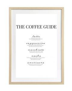 Taulu Coffee Guide 50x70cm DECO
