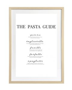 Taulu Pasta Guide 50x70cm DECO