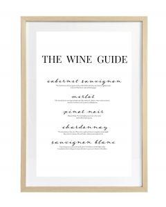 Taulu Wine Guide 50x70cm DECO