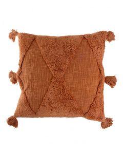 Tyynynpäällinen 50cm ruoste BOHO