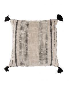Tyynynpäällinen 50cm tassel RUSTIC